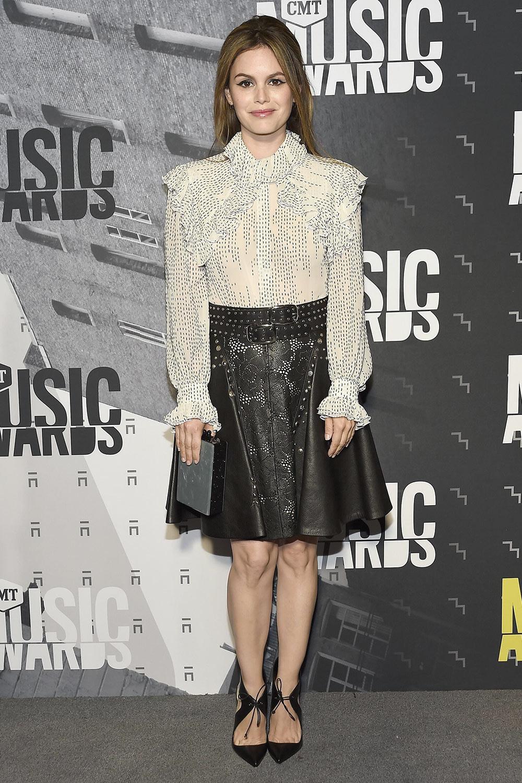 Rachel Bilson attends 2017 CMT Music Awards