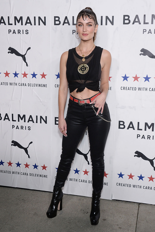 Rachel Matthews attends PUMA x Balmain x Cara Delevingne LA Launch Party