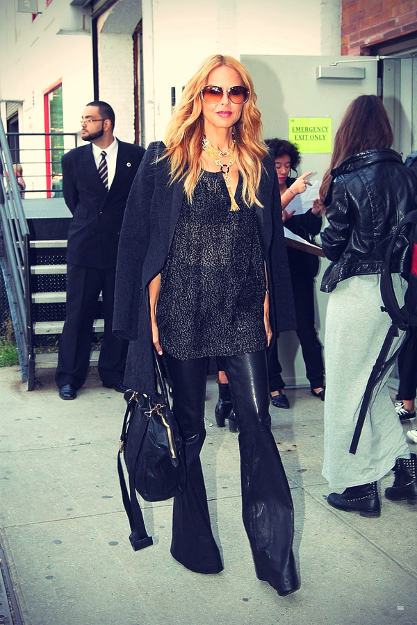 Rachel Zoe seen arriving in style to a fashion show