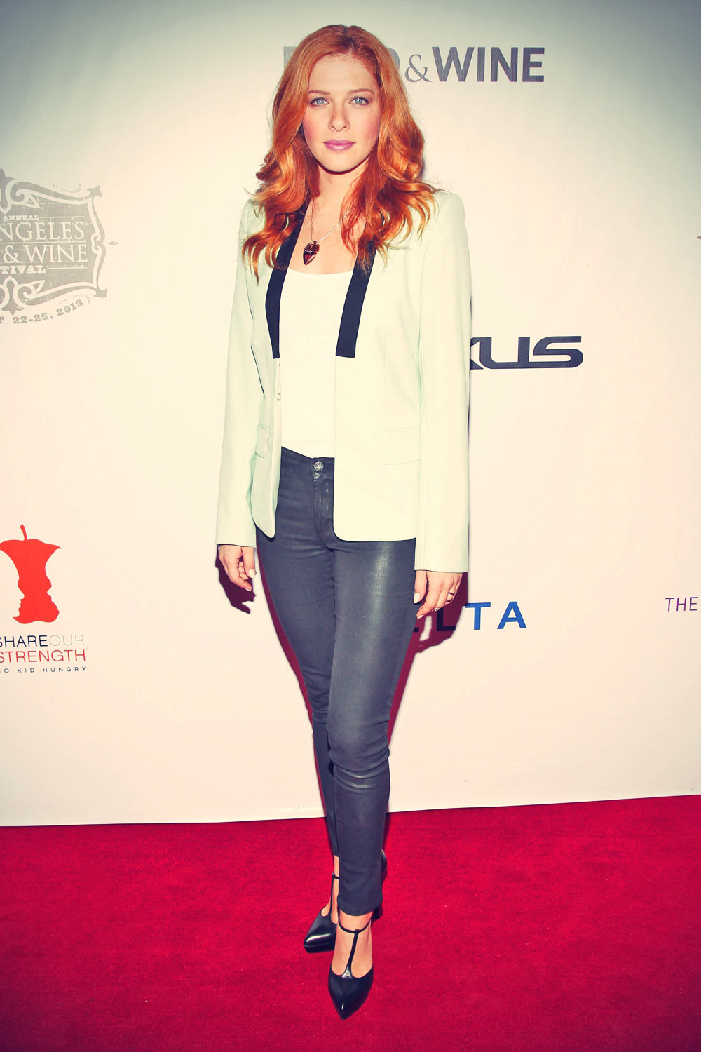 Rachelle Lefevre at Los Angeles Food & Wine Festival opening night