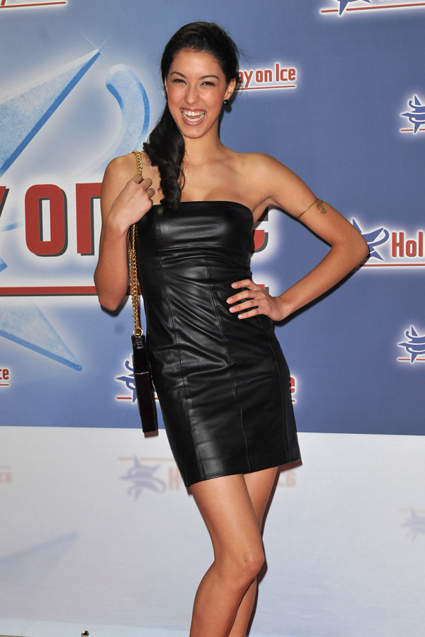 Rebecca Mir at Gala Premiere Holiday on Ice in Berlin