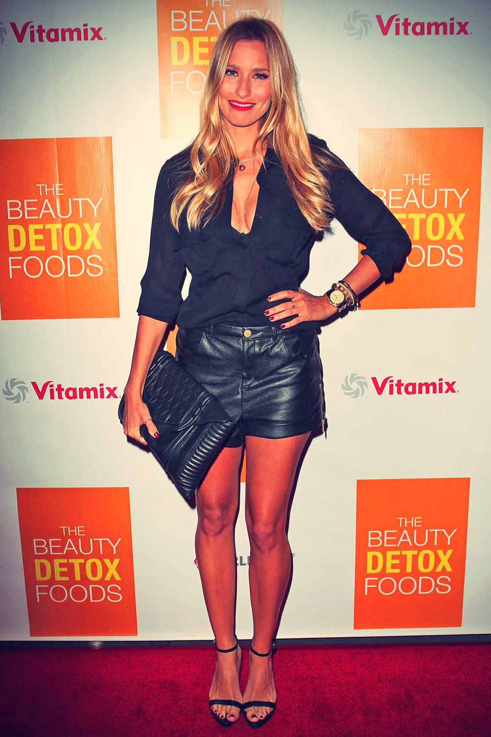 Renee Bargh attends the book launch party for The Beauty Detox Foods
