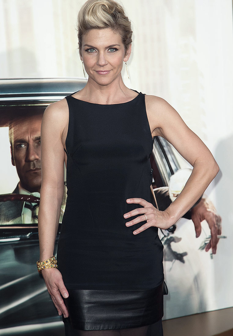 Rhea Seehorn attends AMC Celebrates The Final Episodes Of 'Mad Men'