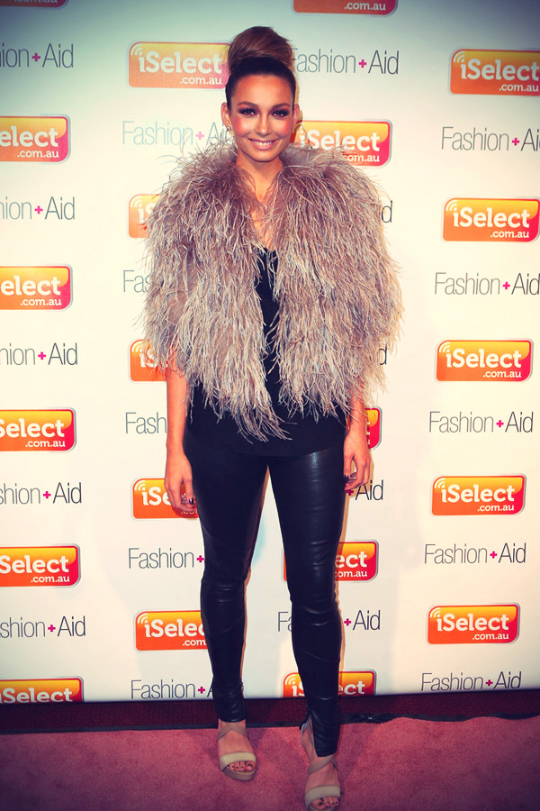 Ricki Lee Coulter arrives at iSelect Fashion