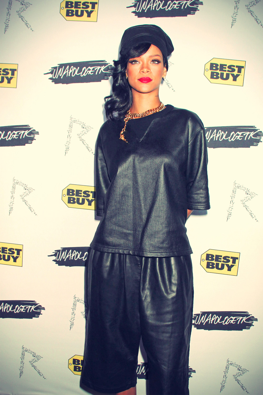 Rihanna Unapologetic album launch