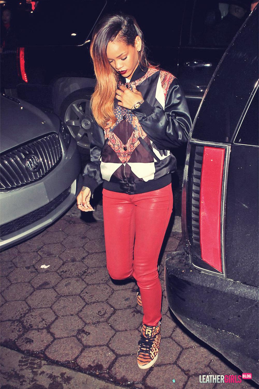 Rihanna at My Studio Nightclub