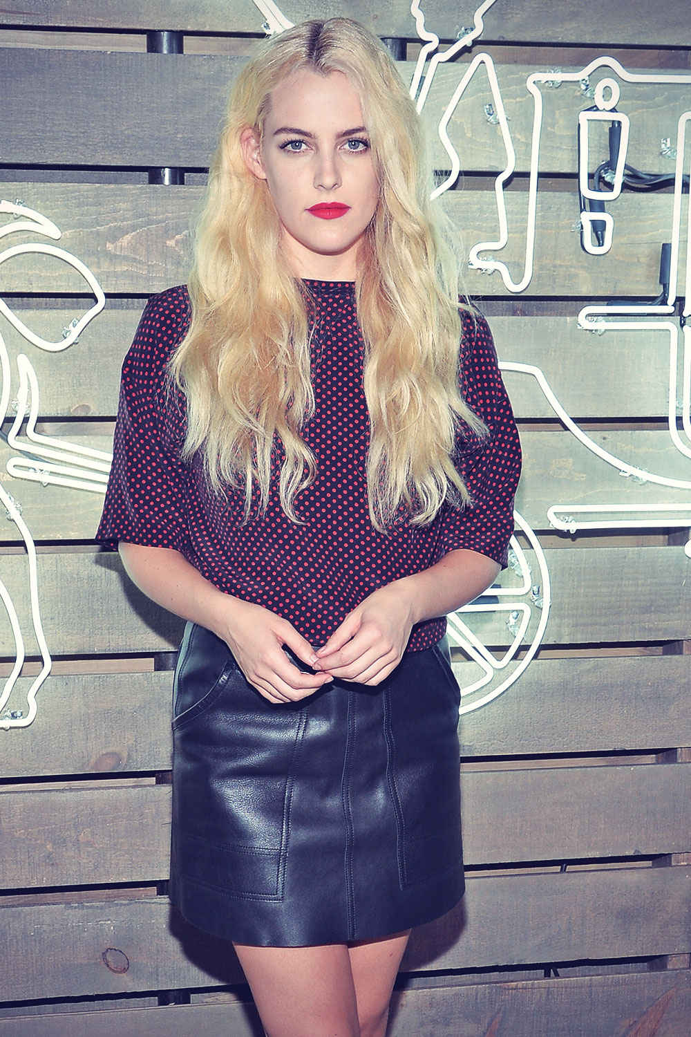 Riley Keough attends 2014 Coach Summer Party