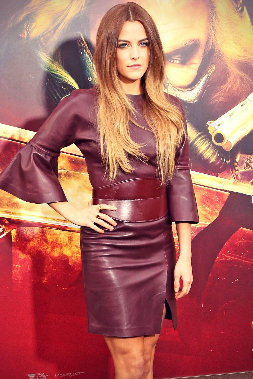 Riley Keough attends Mad Max Fury Road LA Premiere