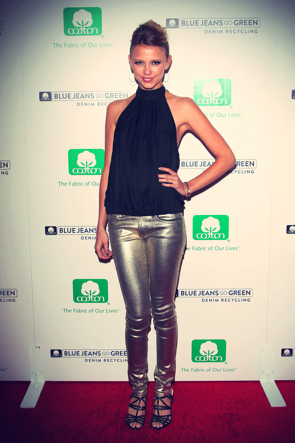 Riley Voelkel attends Blue Jeans Go Green