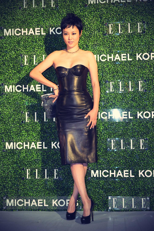 Rinko Kikuchi attends Michael Kors and Miranda Kerr Celebrate Elle Japon