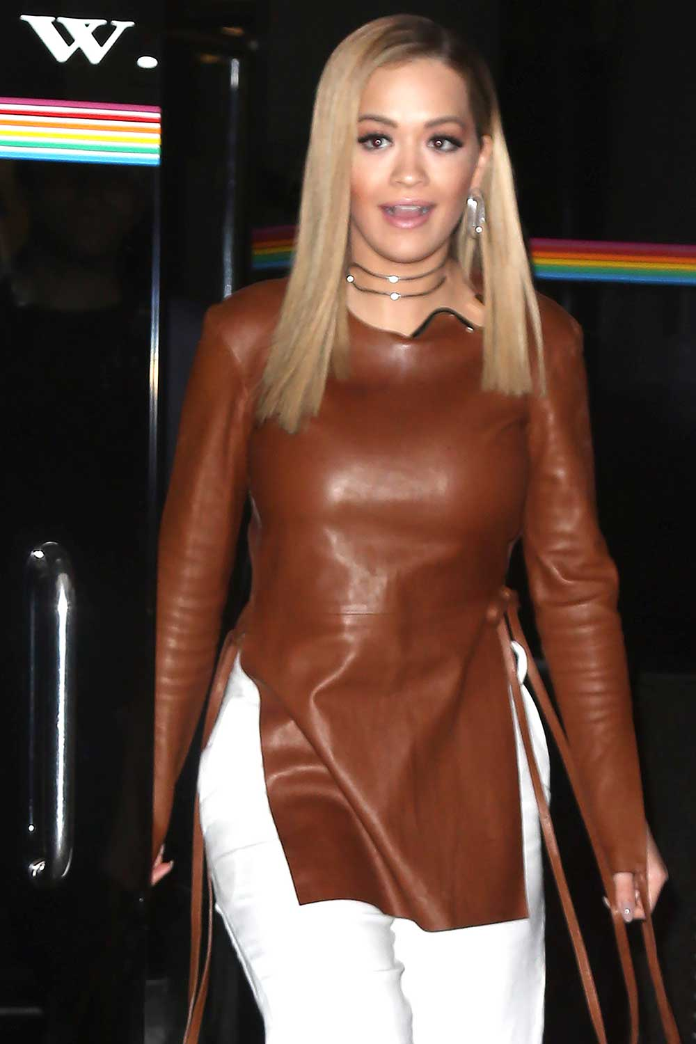 Rita Ora Leaving Wendy Williams Show