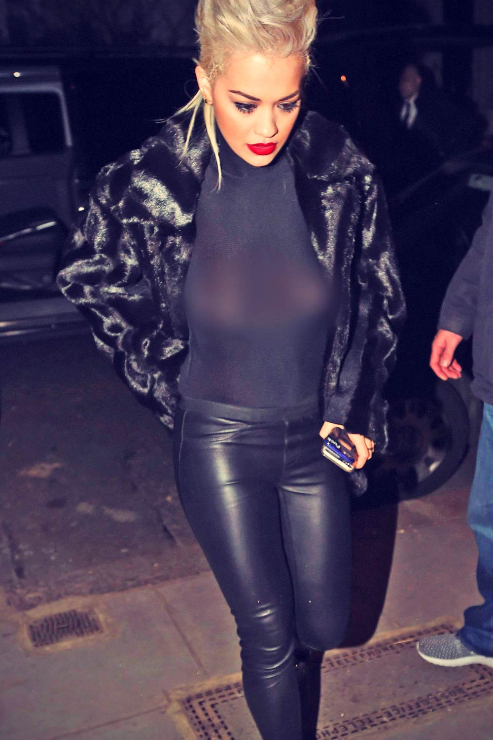Rita Ora Leaving the O2 Shepherds Bush Empire