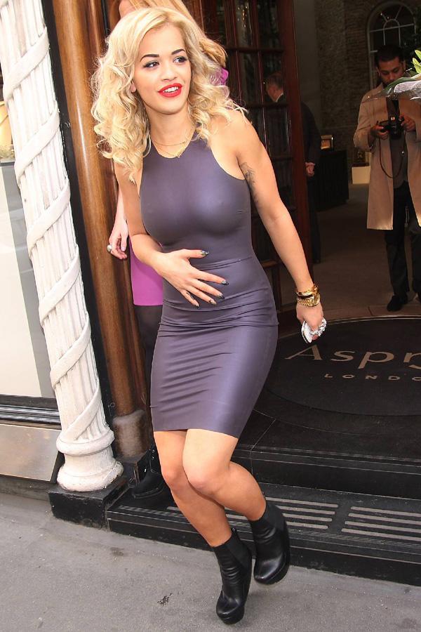 Rita Ora album launch at Asprey