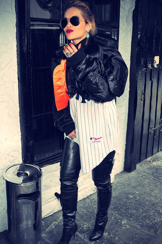 Rita Ora arrives at Scotch of St James Member Club