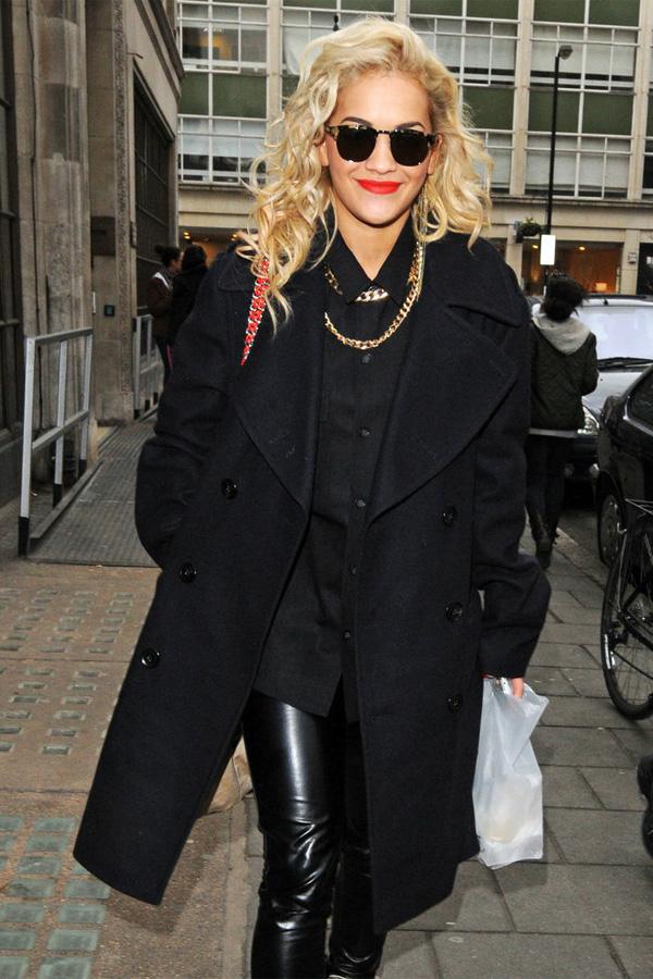 Rita Ora at BBC Radio 1