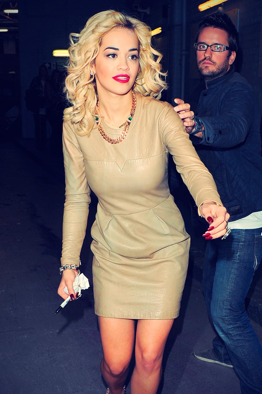 Rita Ora at ITV Studios in London 2012-08-30
