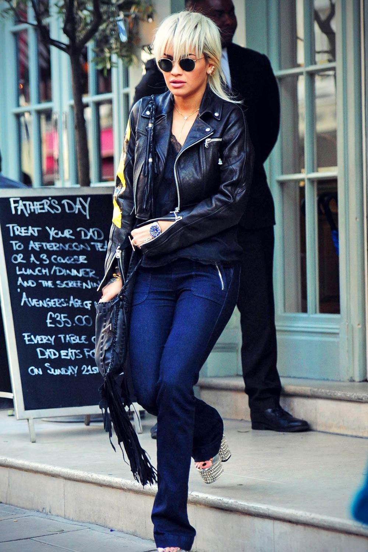 Rita Ora at the Charlotte Street Hotel