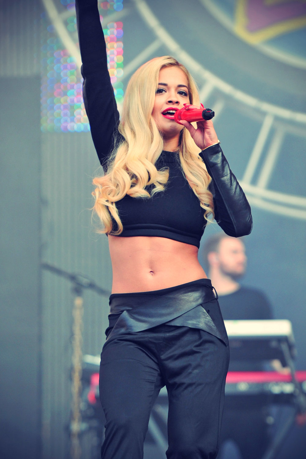 Rita Ora attends North East Live