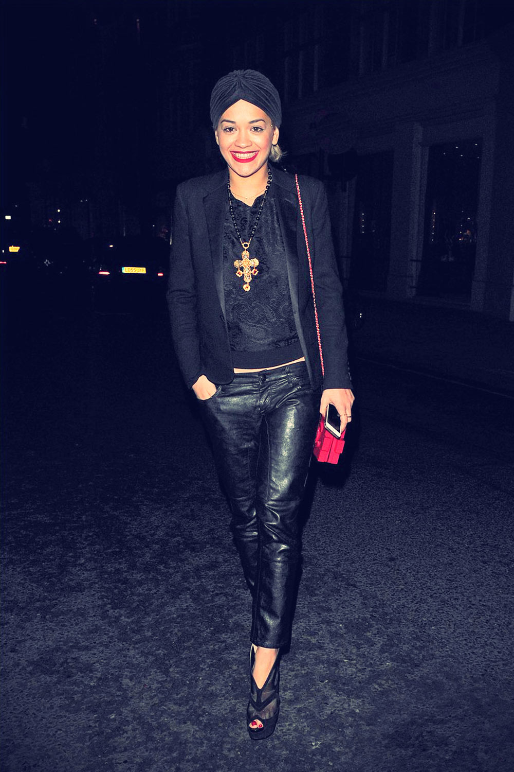 Rita Ora heads out to dinner