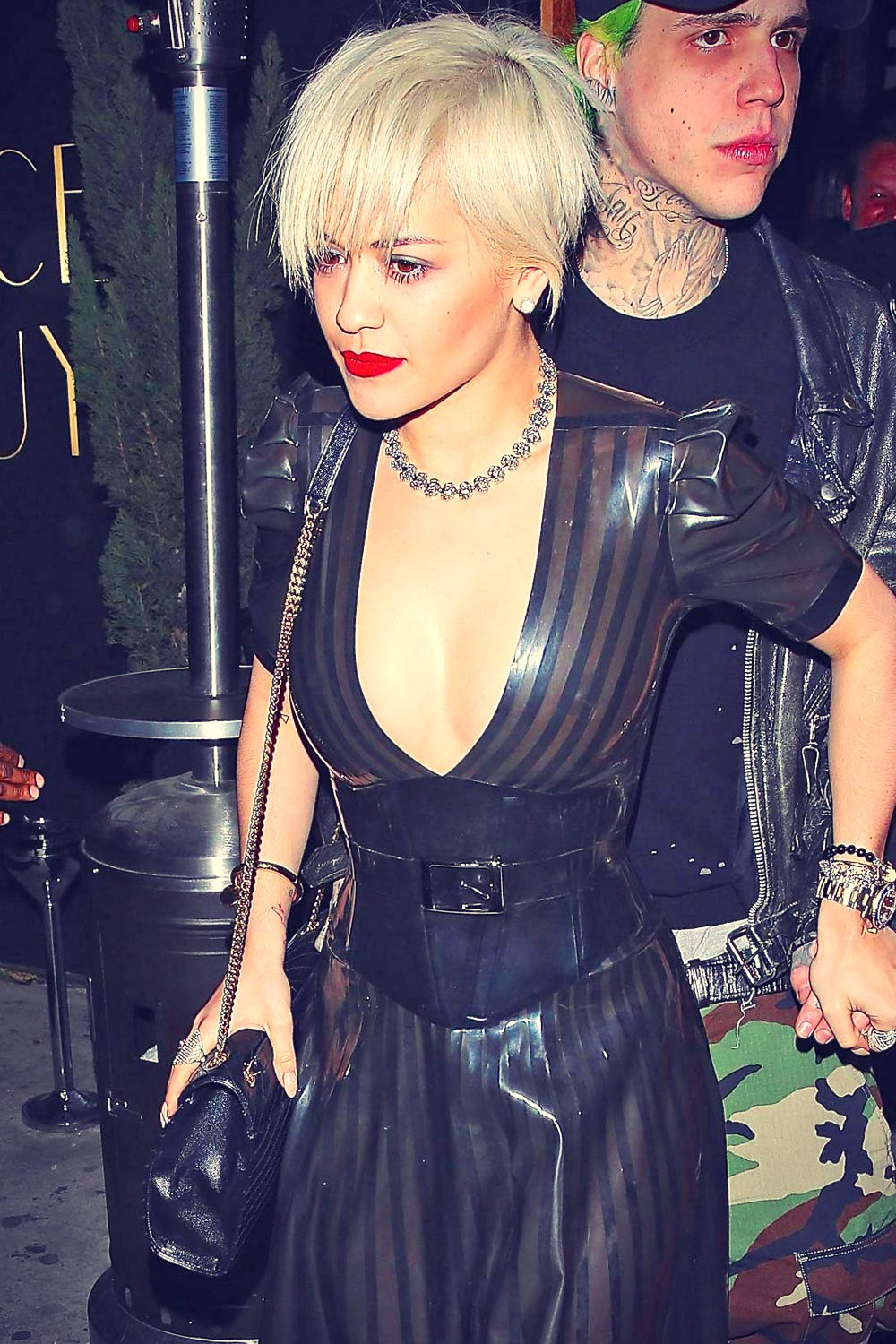 Rita Ora leaving The Nice Guy in Los Angeles