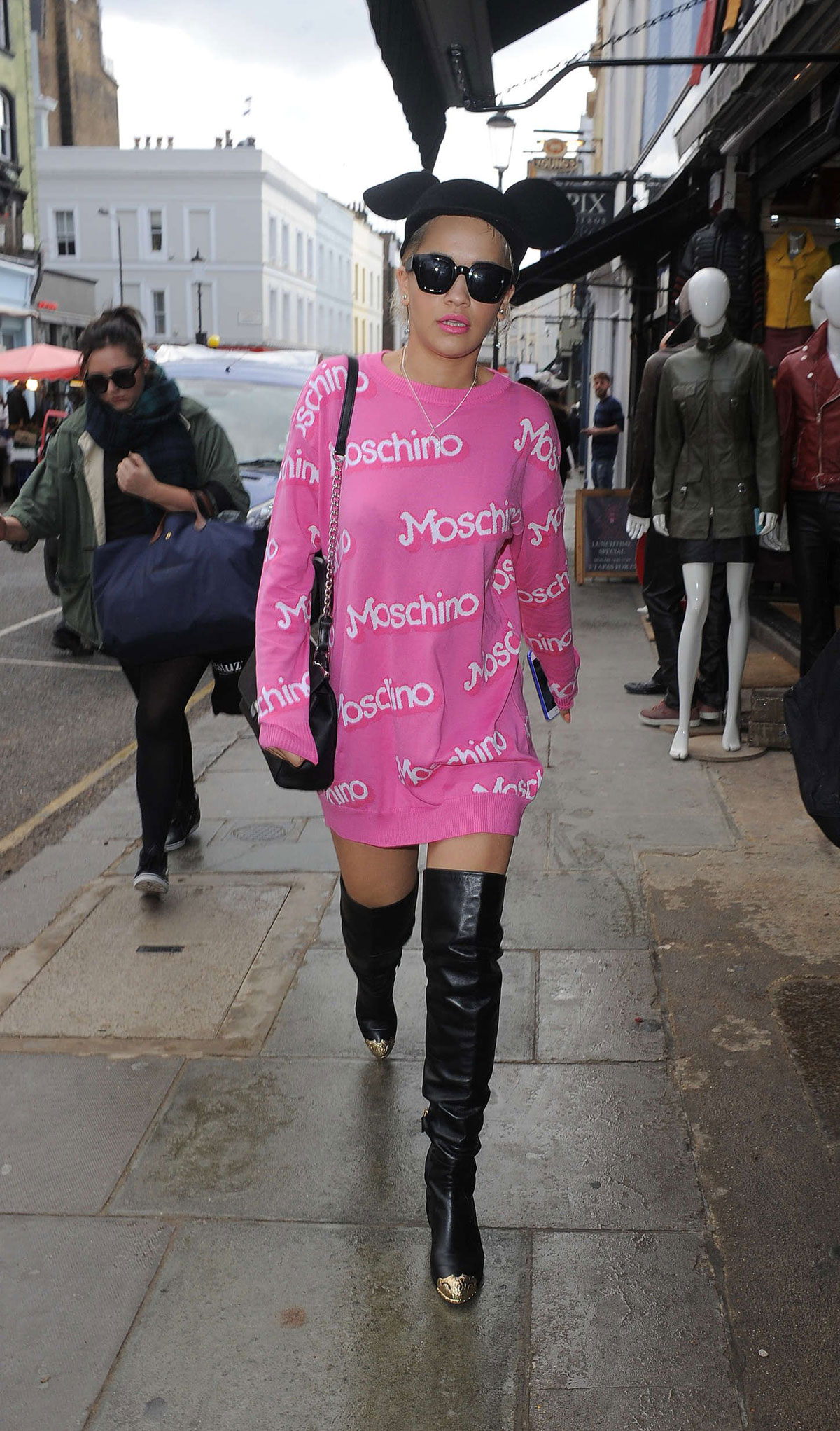 Rita Ora was seen at Electric Cinema in Notting Hill for a business meeting