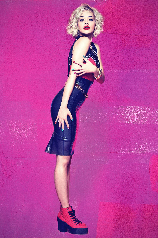 Rita Ora photoshoot for Rimmel London