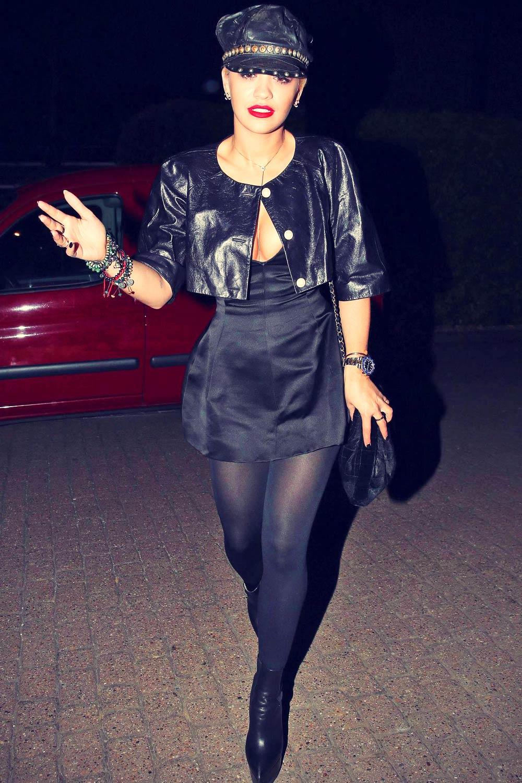 Rita Ora seen at Chiltern Firehouse