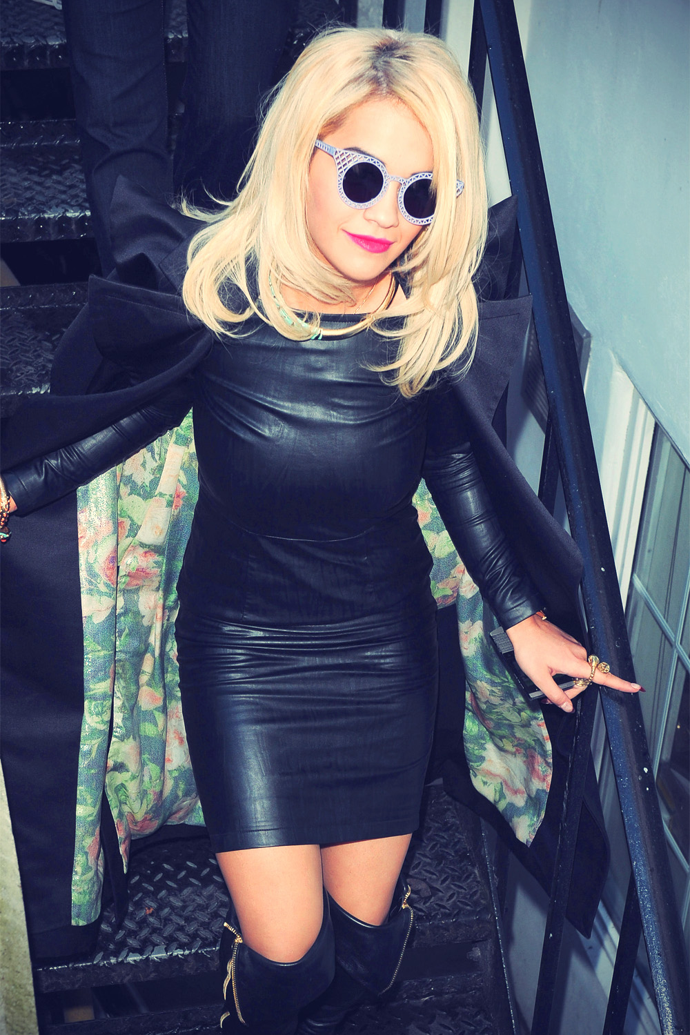 Rita Ora at BBC Radio 1 in London