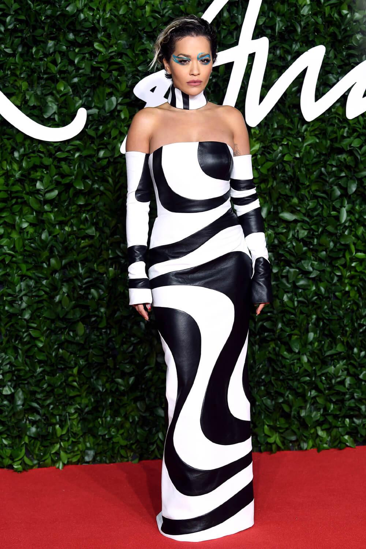 Rita Ora attends The Fashion Awards