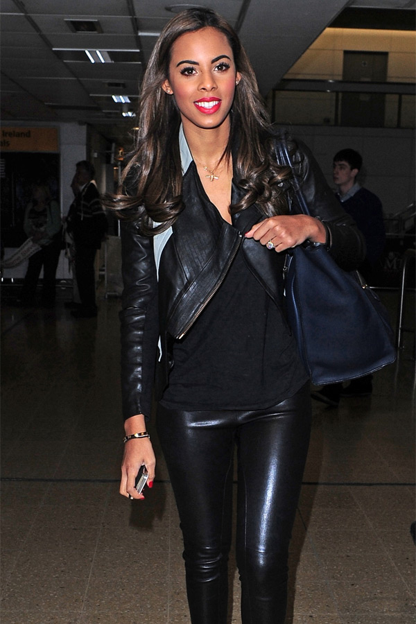 Rochelle Wiseman at Heathrow Airport