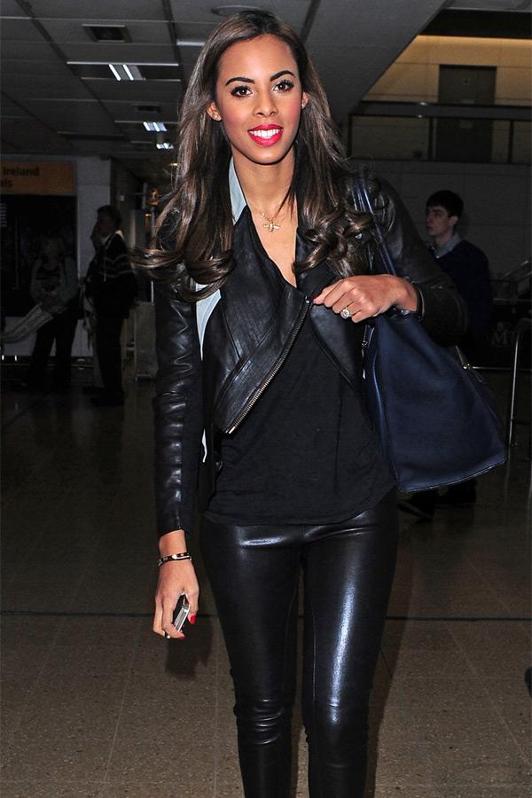 Rochelle Wiseman at Heathrow Airport
