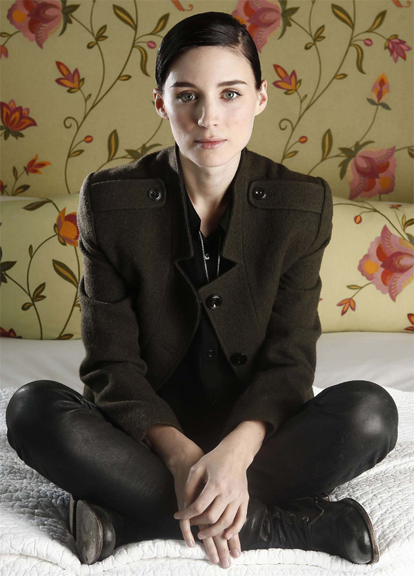 Rooney Mara - Portrait Session at the Crosby St. Hotel