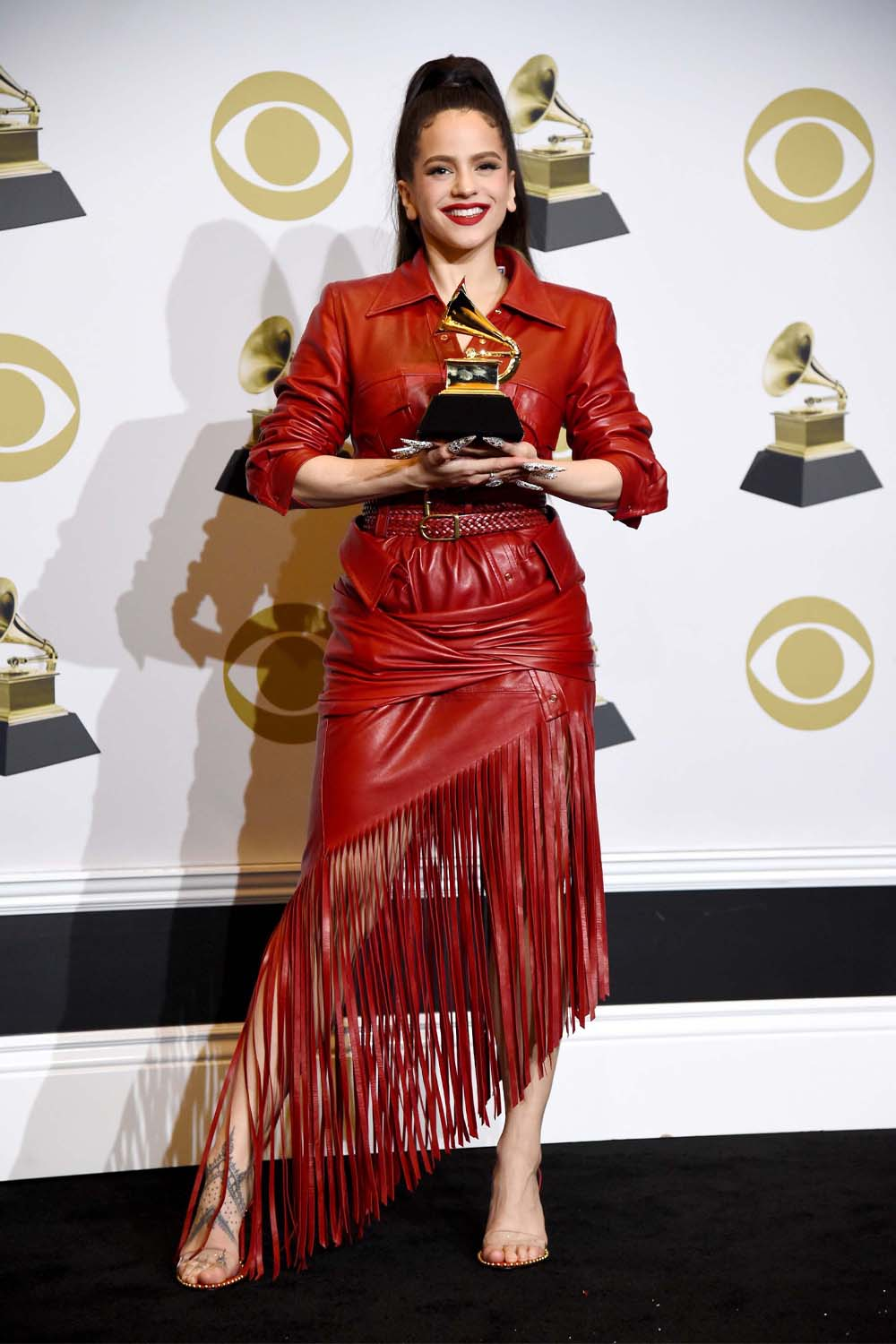 Rosalia attends 62nd Annual GRAMMY Awards at Staples Center in Los Angeles, CA