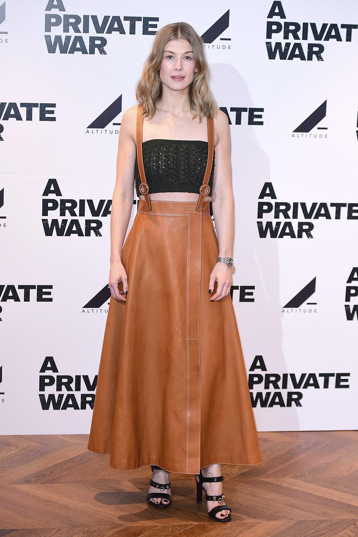 Rosamund Pike attends A Private War Screening