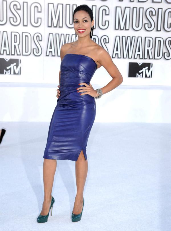 Rosario Dawson at 2010 MTV Video Music Awards
