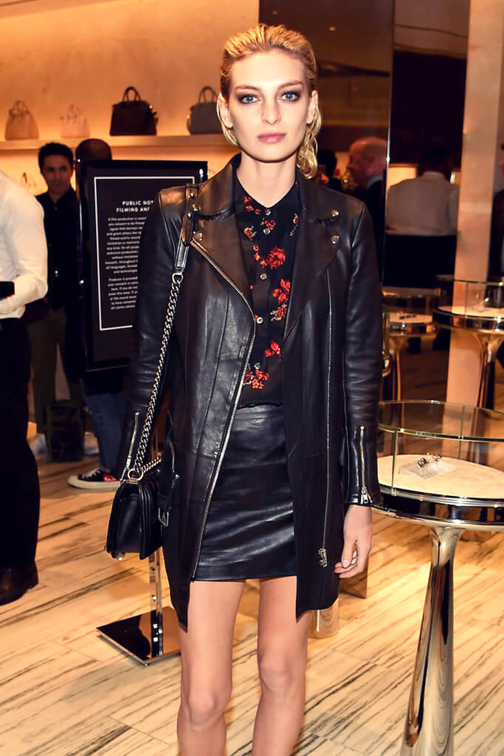 Rose Smith at Barneys New York celebrates its new Downtown flagship store