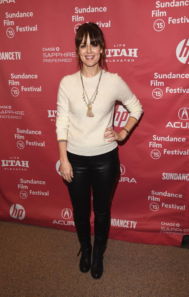 Rosemarie DeWitt attends Digging For Fire premiere