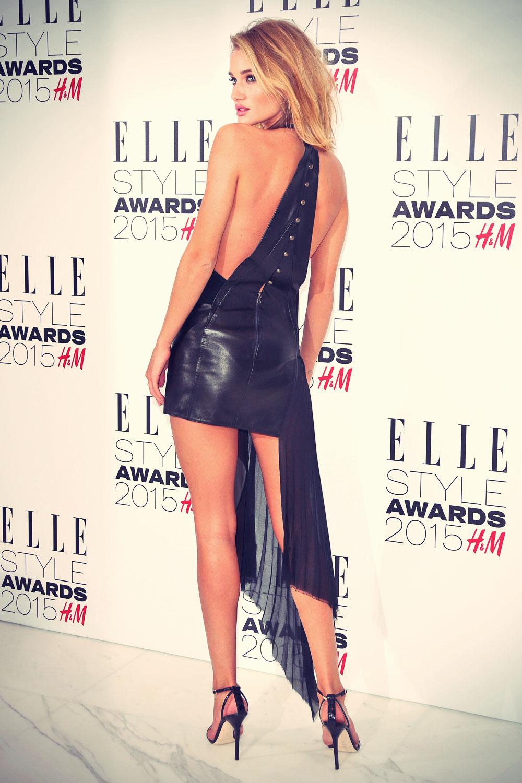 Rosie Huntington Whiteley attends Elle Style Awards 2015