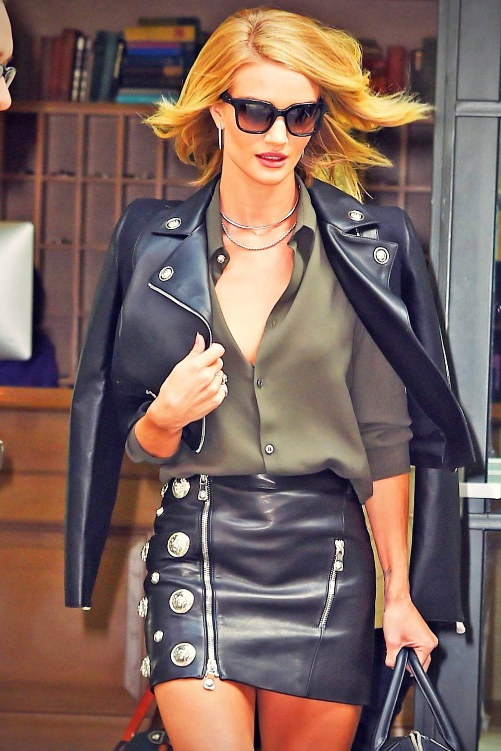 Rosie Huntington-Whiteley steps out in New York City