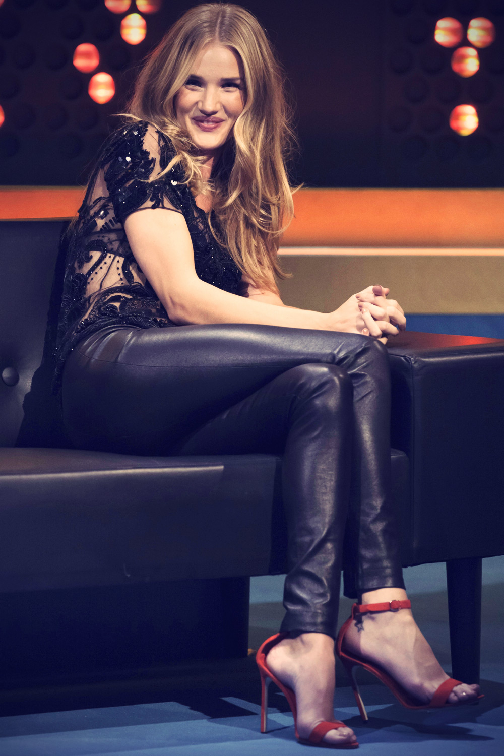 Rosie Huntington-Whitely at The Jonathan Ross Show