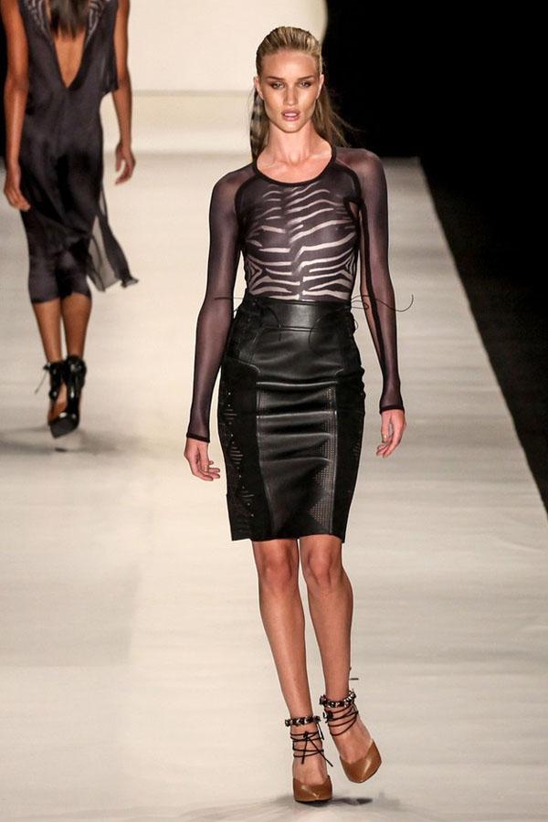 Rosie Huntington-Whiteley at Animale fashion show