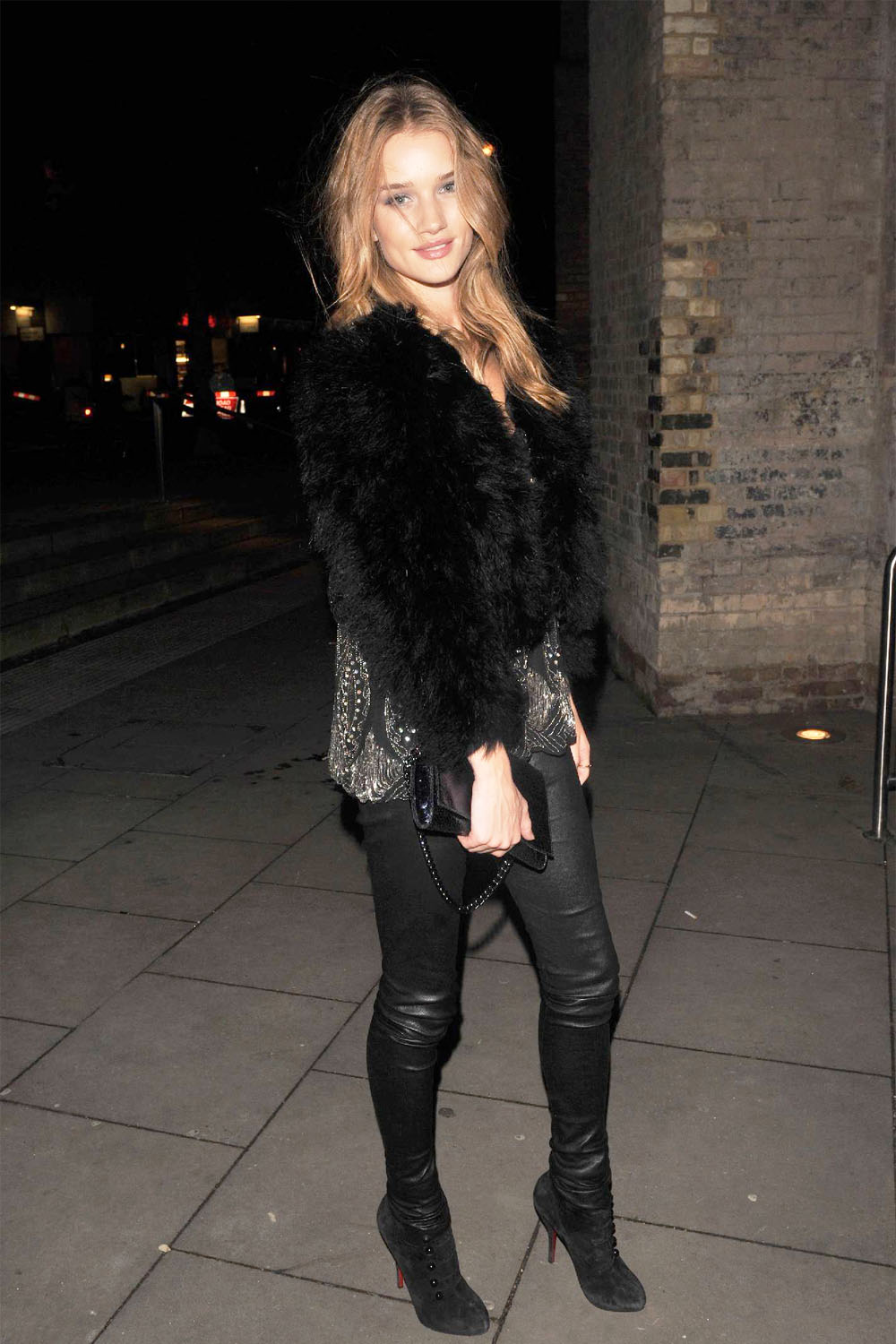 Rosie Huntington-Whitely at La Clique Opening