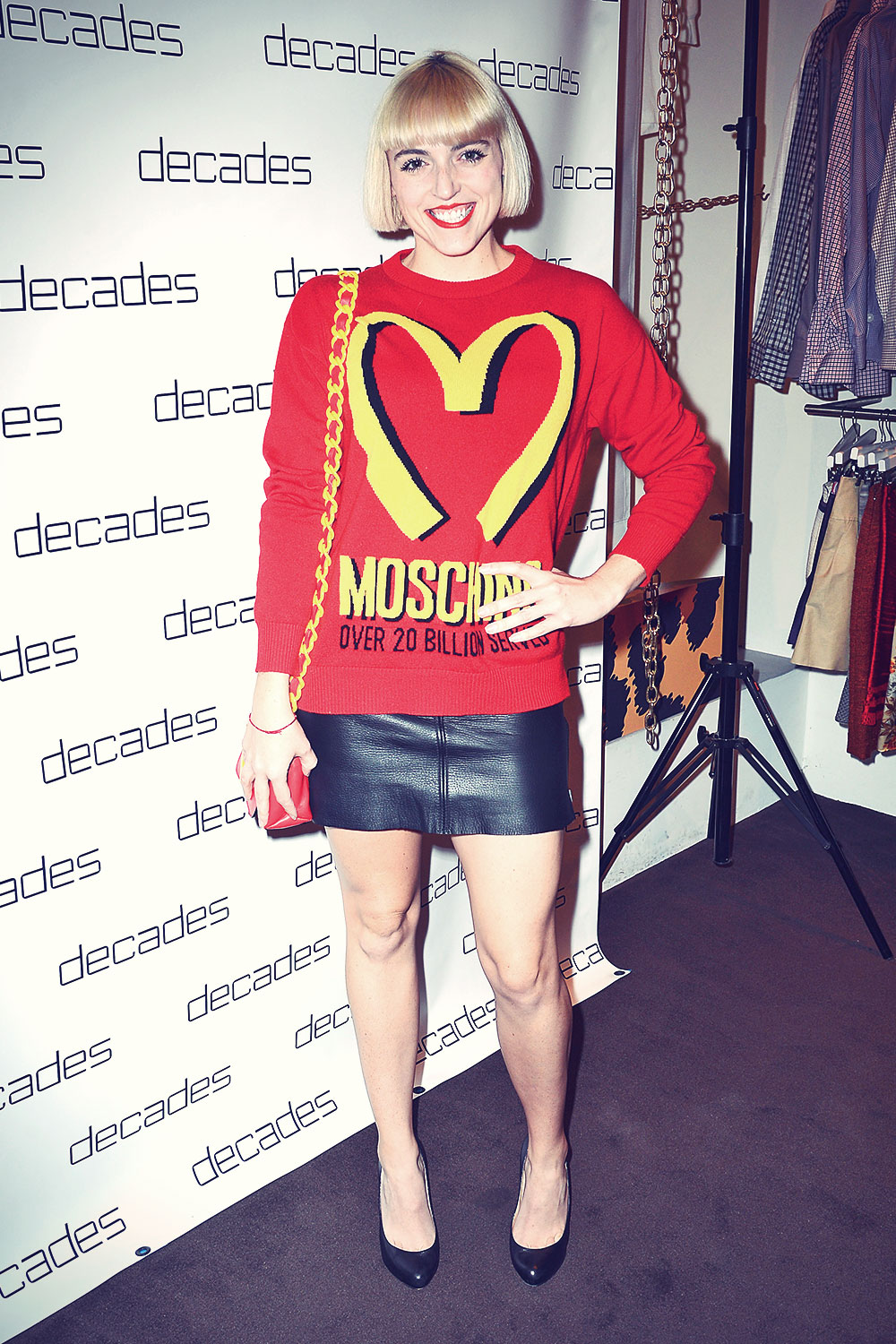 Rosson Crow attends The Les Must De Moschino Event