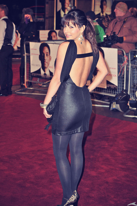 Roxanne Pallett attends Seven Pounds Premiere