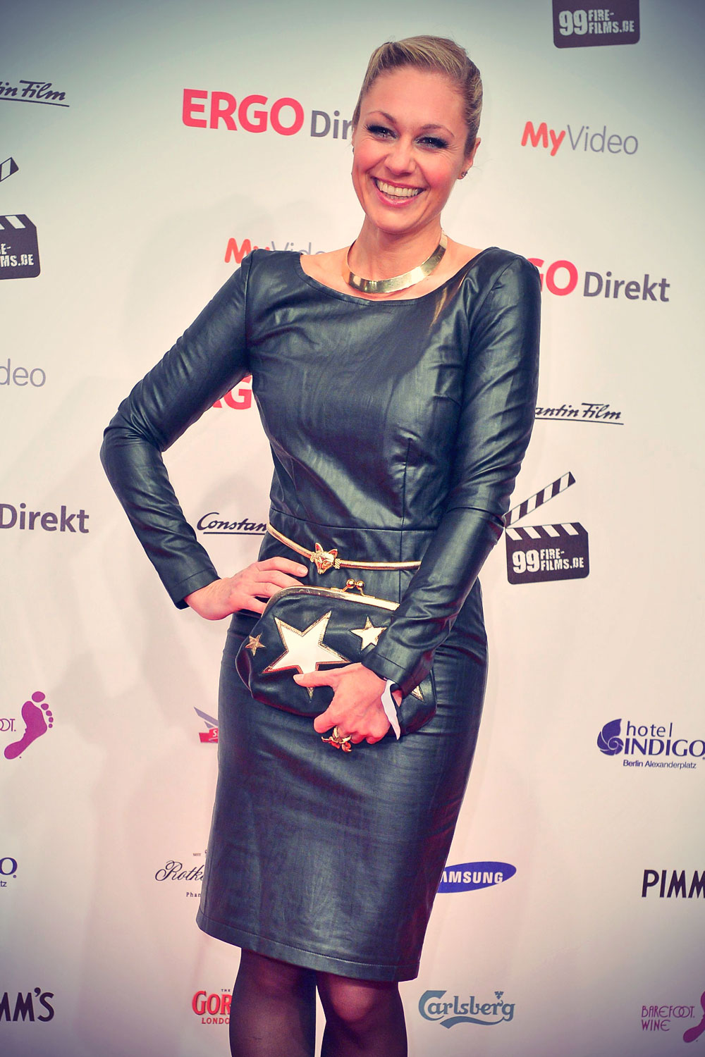 Ruth Moschner attends 99Fire Film-Award