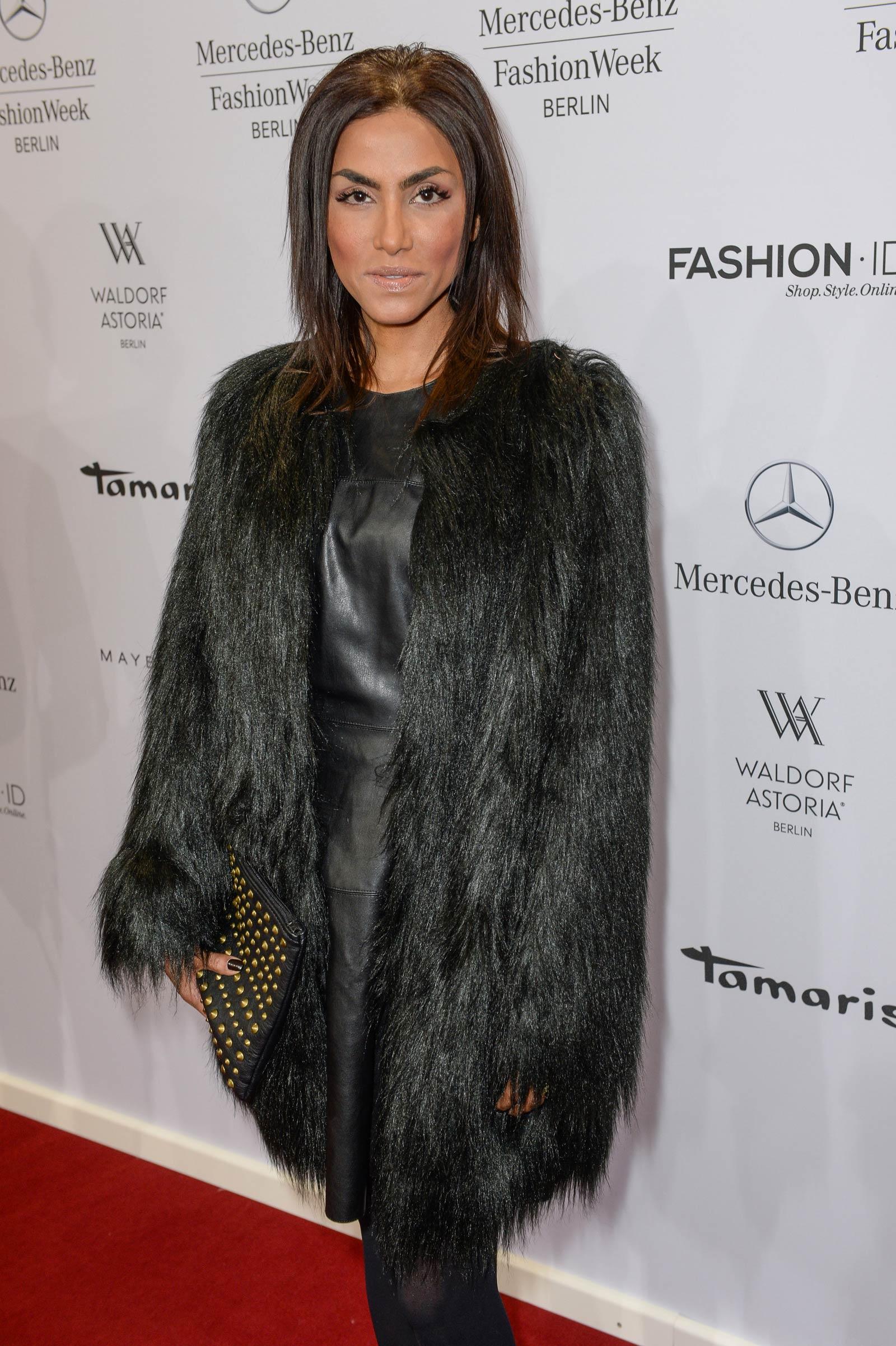 Sabrina Setlur attends Merceses Benz Fashion Week