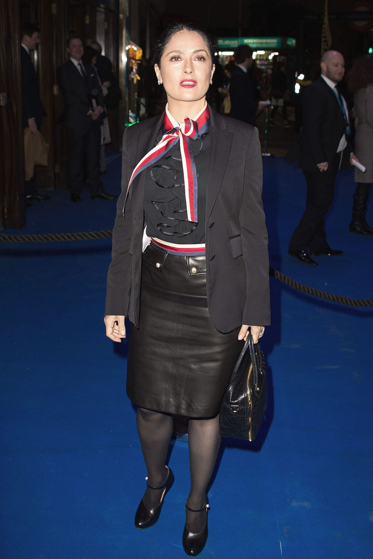 Salma Hayek attends An American in Paris Press Night