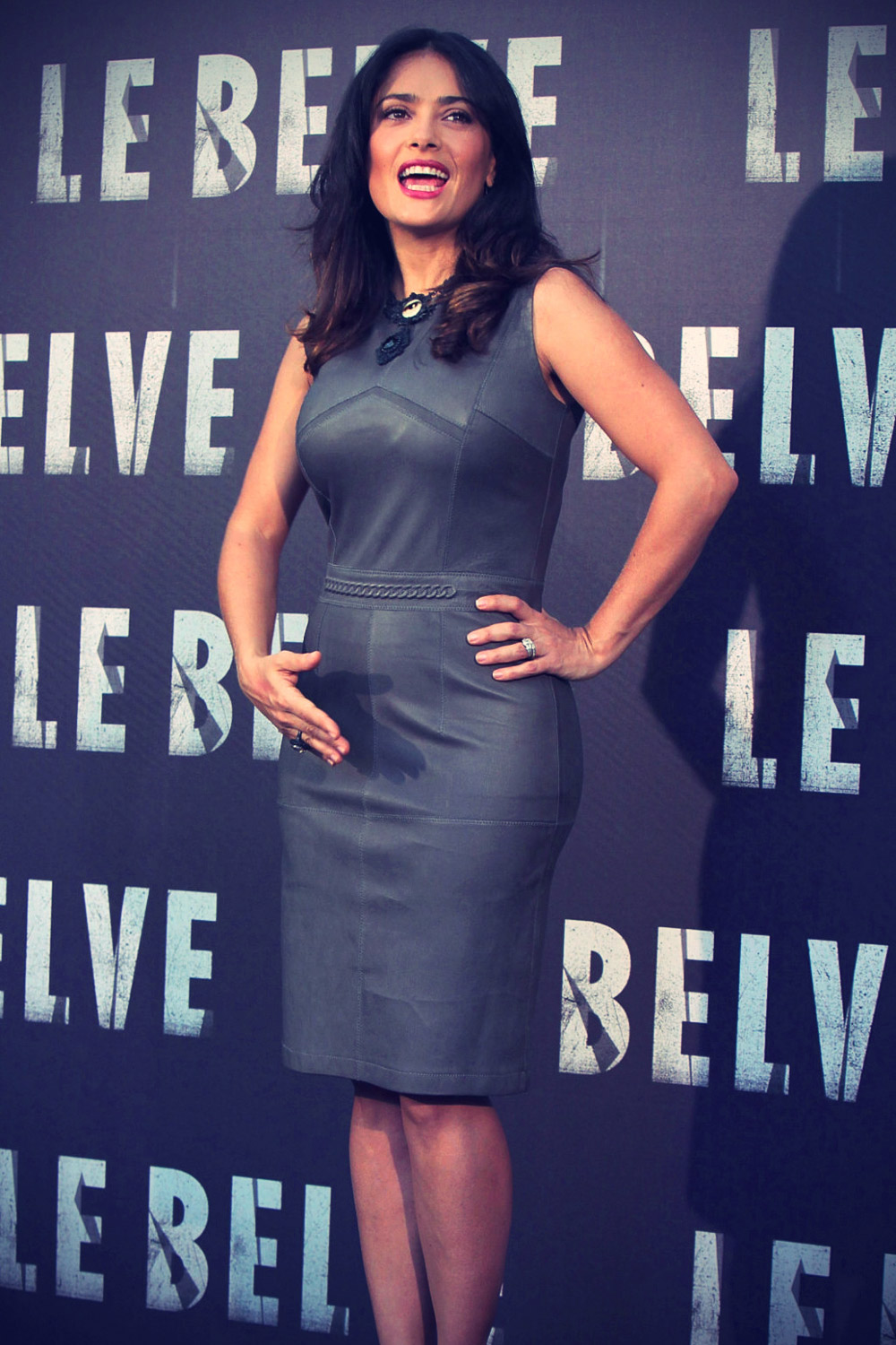 Salma Hayek attends photcall of the movie Savages