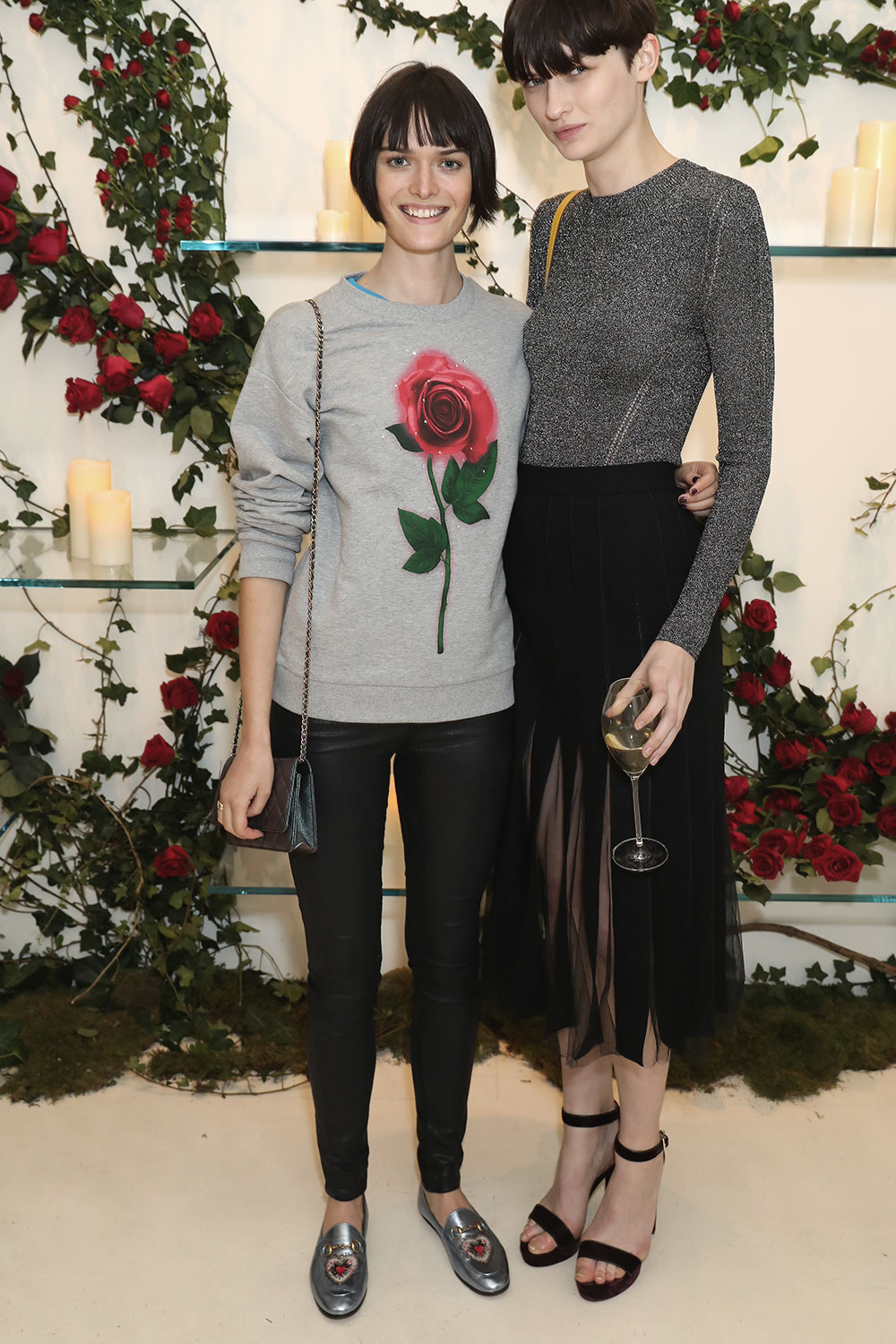 Sam Rollinson attends the launch of Christopher Kane's new capsule collection