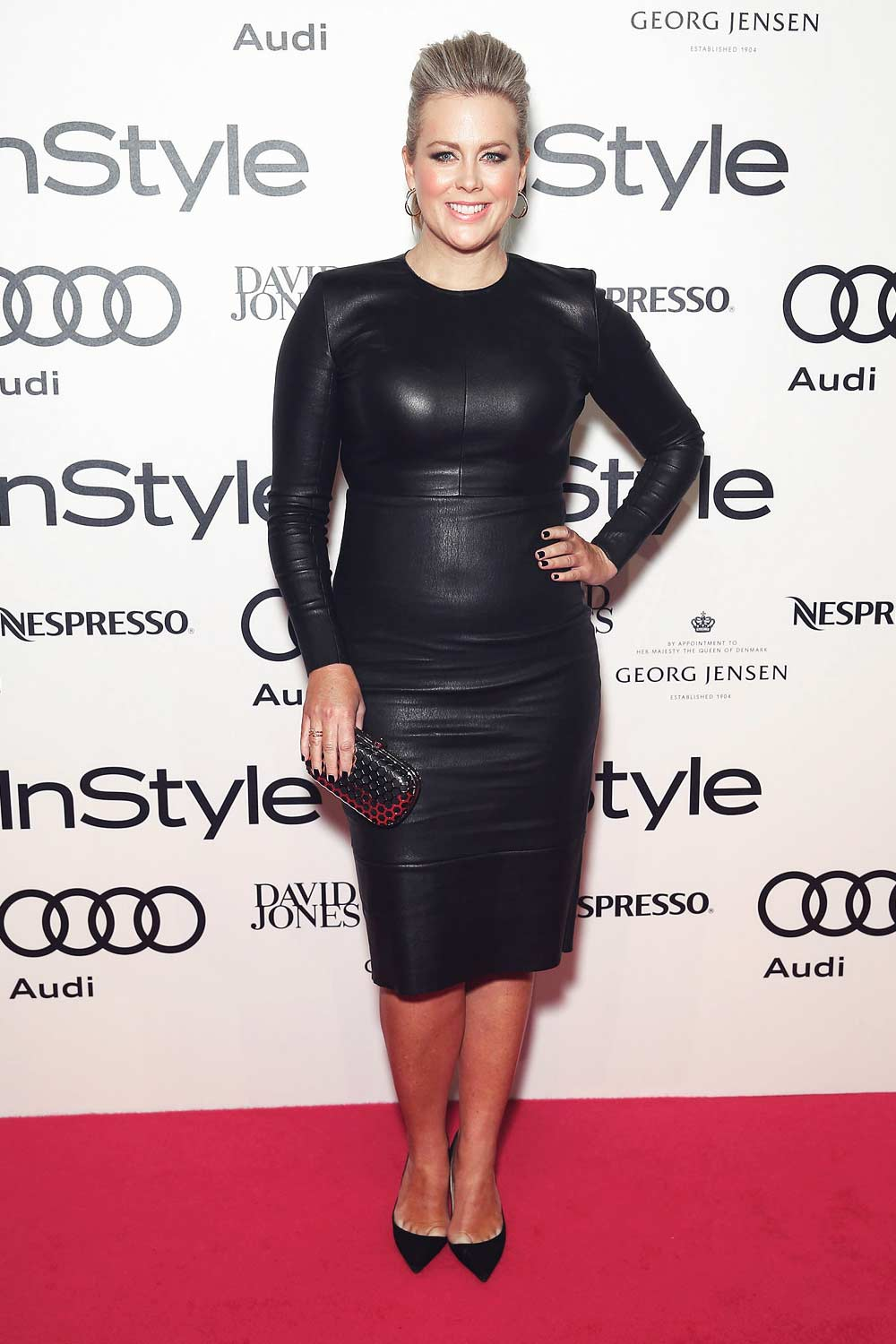 Samantha Armytage arrives at the 2015 Women of Style Awards